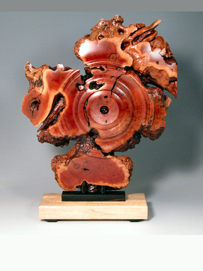Wood Burl Sculpture